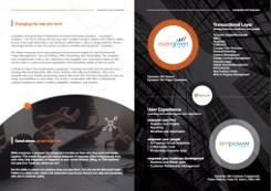 evergreen + empower: Brochure