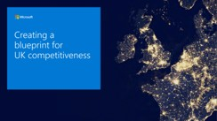 Creating a blueprint for UK competitiveness