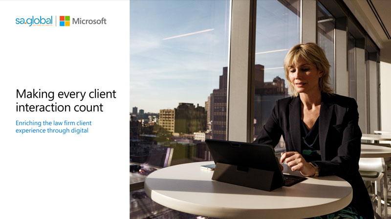 sa.global and Microsoft in Legal